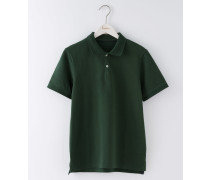 Piqué-Poloshirt Grün Herren