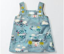 Retro-Trägerkleid Blau Baby Boden