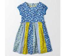 Hübsches Kleid mit Mustermix Blau Mädchen