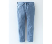 3/4-Jeans Blau Damen