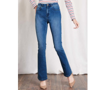 Schmale Marylebone Bootcut-Jeans Vintage Denim Damen