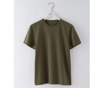 Vorgewaschenes T-Shirt Khaki Herren Boden