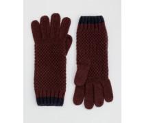 Handschuhe in Blockfarben BUR Damen Boden