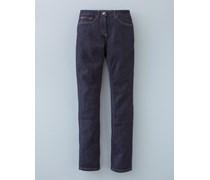 Jeans mit geradem Bein Indigoblau Damen Boden