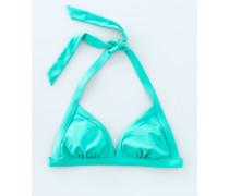 Neckholder-Bikinioberteil Grün Damen