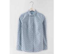 Das Wochenend-Hemd Blau Damen