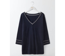 Fern Pullover Navy Damen