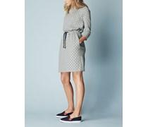 Peggy Kleid mit Zugband Grau Damen Boden