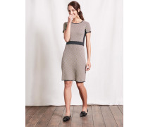 Zoe Strickkleid Braun Damen