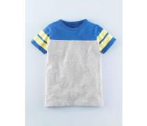 Sportliches T-Shirt mit Streifen Grau Jungen