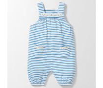 Fröhliche Latzhose Blau Baby Boden