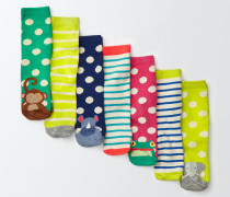 Socken im 7er-Pack Blau Mädchen