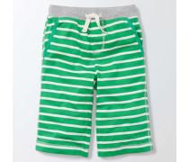 Baggyhose aus Jersey Grün Jungen