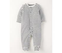 Gemütlicher Schlafanzug aus Nicki Dunkelblau Baby Boden