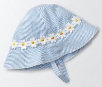 Hübsche gewebte Mütze Blau Baby Boden