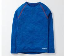 Langärmliges Sportshirt Blau Jungen