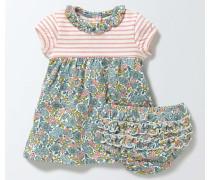 Jerseykleid mit Mustermix Bunt Baby Boden