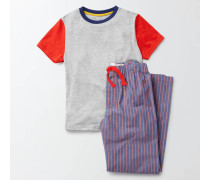 Pyjamaset Navy Jungen Boden