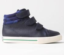 Hohe Sneakers aus Leder Navy Jungen