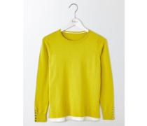 Tilly Pullover Gelb Damen