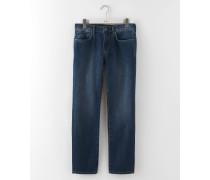 Jeans mit schmalem Bein Mittelblaues Denim Herren Boden