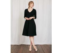 Bryony Kleid aus Ponte-Roma-Jersey Schwarz Damen