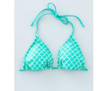 Triangel-Bikinioberteil Grün Damen