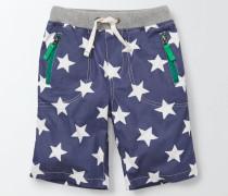 Abenteuer-Shorts Navy Jungen