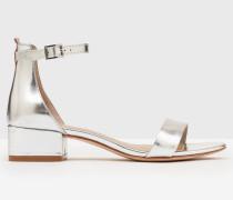 Maxine Schuhe mit Blockabsatz Silver Damen