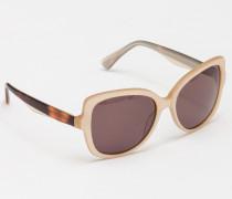 Sonnenbrille Pink / Hautfarben Damen Boden