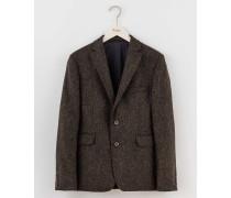 Jacke aus britischem Tweed Grau Herren Boden