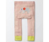 Strickleggings Pink Baby Boden