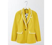 Ellen Baumwoll-blazer Gelb Damen