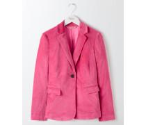Emilia Blazer aus Samt Pink Damen