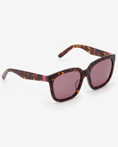 Tanya Sonnenbrille Brown Damen
