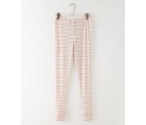 Gemütlicher langer Jerseyschlafanzug Pink Damen