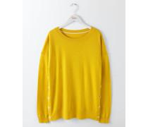 Grace Pullover mit Knöpfen Gelb Damen