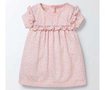 Hübsch gemustertes Jerseykleid Pink