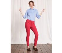 Mayfair Bi-Stretch-Jeans Dunkelpink Damen
