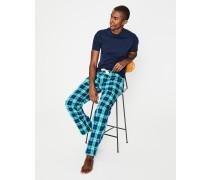 Pyjamahose aus Baumwollpopeline Green Herren