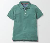 Poloshirt aus Piqué Grün Jungen