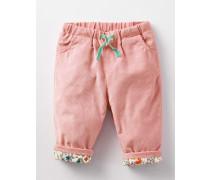 Hübsche Cordhose zum Hineinschlüpfen Pink Baby Boden