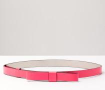Taillengürtel mit Schleife Pink Damen Boden