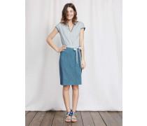 Thea Jerseykleid Blau Damen
