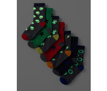 7er-Pack Socken SPC Jungen Boden