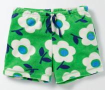 Adventure Frottee-Shorts Grün Mädchen