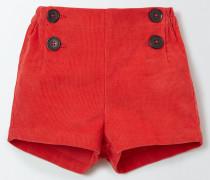 Klassische Cordshorts Rot Baby Boden