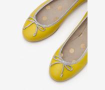 Ballerinas Yellow Damen