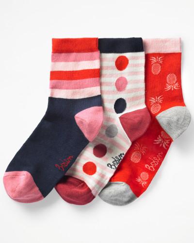 Socken im 3er-Pack Red Damen