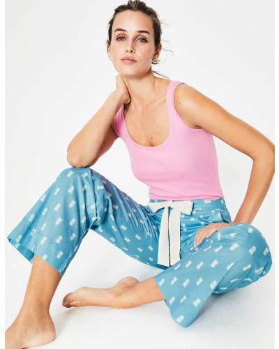 Suzie Pyjamahose Blue Damen